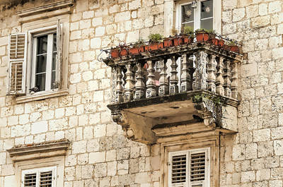 Photograph - Balcony by Maria Coulson