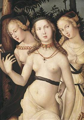 Wood Necklace Photograph - Baldung Grien, Hans 1485-1544. The by Everett