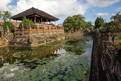 Bale Photograph - Bali, Indonesia The Bale Kambang by Charles O. Cecil