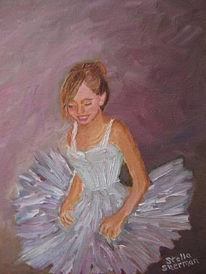 Painting - Ballerina 2 by Stella Sherman