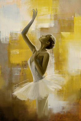 Ballerina  Art Print by Corporate Art Task Force
