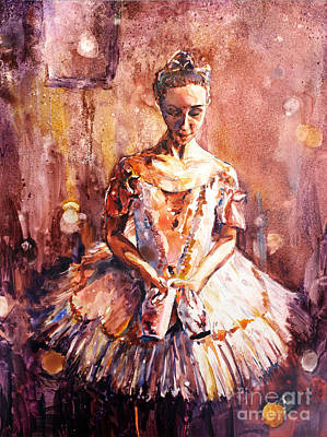 Painting - Ballerina  by Ryan Fox