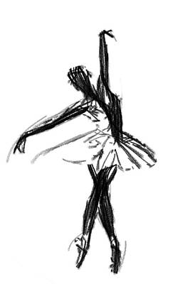 Prima Ballerina Painting - Ballerina  by Steve K