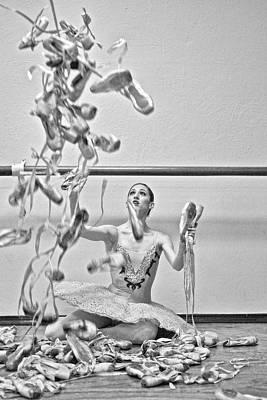 Ballet Art Print by Kike Calvo