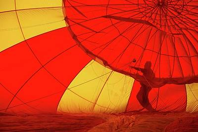 Art Print featuring the photograph Balloon Fantasy 2 by Allen Beatty