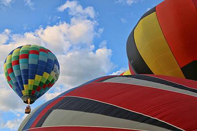 Photograph - Balloon Fantasy 21 by Allen Beatty