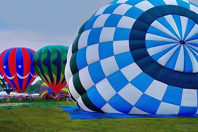 Photograph - Balloon Festival by Dyle   Warren