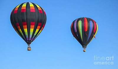 Photograph - Balloon Fiesta by Steven Ralser