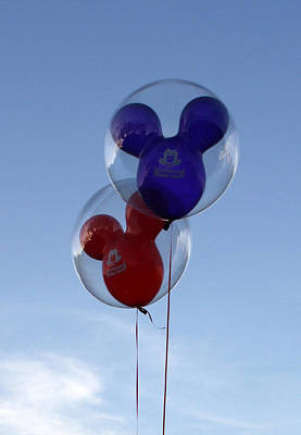 Photograph - Balloons by David Nicholls