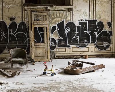 Photograph - Ballroom Piano by Anne Raczkowski