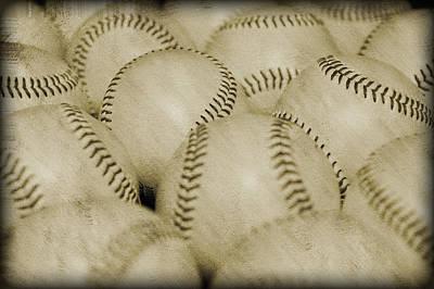 Balls Print by Malania Hammer