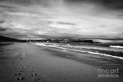 Ballycastle Photograph - Ballycastle Beach In Winter County Antrim Northern Ireland by Joe Fox