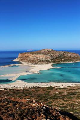 Photograph - Balos Lagoon by Paula Guy