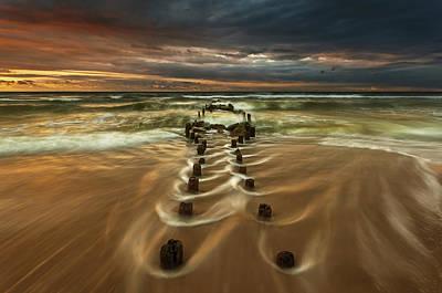 Coast Wall Art - Photograph - Baltic... by Krzysztof Browko
