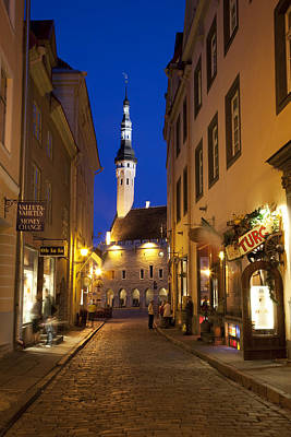 Baltic States, Estonia, Tallinn � Art Print by Tips Images