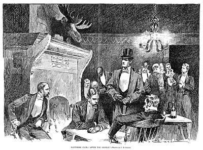 Baltimore Club, 1891 Art Print