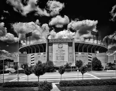 Memorial Stadium Photograph - Baltimore Memorial Stadium 1960s by Mountain Dreams