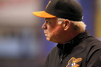 Photograph - Baltimore Orioles V Tampa Bay Rays by Brian Blanco