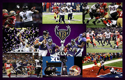 Rice Photograph - Baltimore Ravens by Joe Hamilton