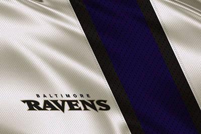 Baltimore Ravens Photograph - Baltimore Ravens Uniform by Joe Hamilton