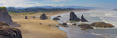Photograph - Bandon Beach Landscape by Dennis Bucklin