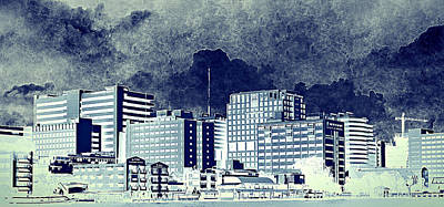 Bangkok Panorama Art Print by Heike Hultsch