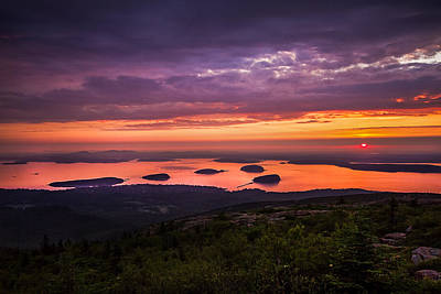 Photograph - Bar Harbor Sunrise by Robert Clifford