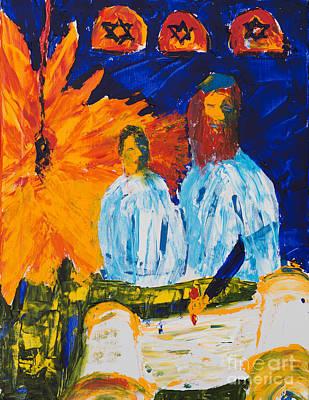 Painting - Bar Mitzvah by Walt Brodis