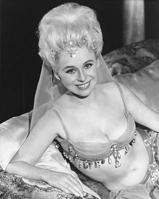 1960 Photograph - Barbara Windsor In Carry On Spying  by Silver Screen