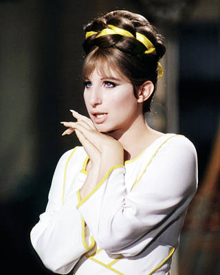 Barbra Streisand Photograph - Barbra Streisand In Funny Lady  by Silver Screen