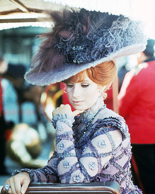 Barbra Streisand Photograph - Barbra Streisand In Hello, Dolly!  by Silver Screen