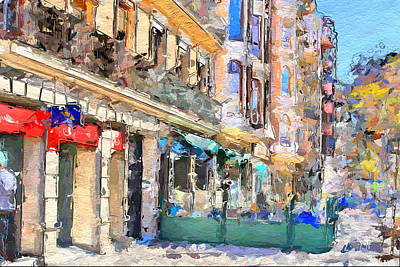 Barcelona 3 Art Print