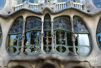 Photograph - Barcelona Spain - Houses Of Discord by Gregory Dyer