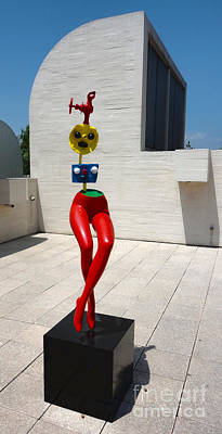 Photograph - Barcelona Spain - Miro Museum by Gregory Dyer