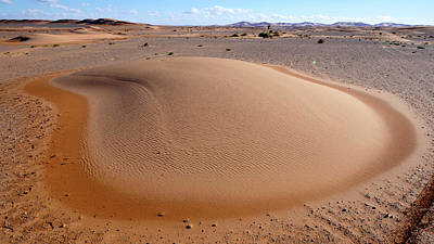 Moroccan Photograph - Barchan Dune by Thierry Berrod, Mona Lisa Production
