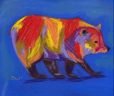 Barely A Bear Original by Diana Tripp