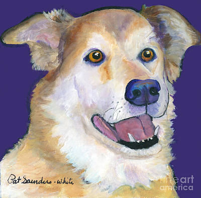 Painting - Barkley by Pat Saunders-White