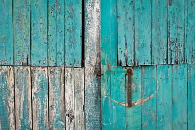 Wall Photograph - Barn Door by Tom Gowanlock