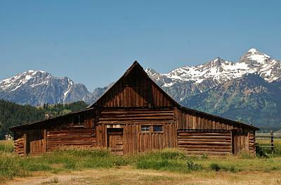 Photograph - Barn In Grand Teton by Dany Lison