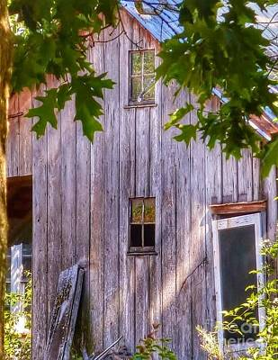 Photograph - Barn Story by Susan Garren
