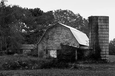 Photograph - Barns by David Lester