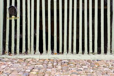 Cellar Photograph - Bars by Tom Gowanlock