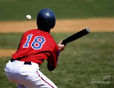 Baseball Batter Art Print