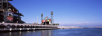 Baseball Park At The Waterfront, At&t Art Print by Panoramic Images