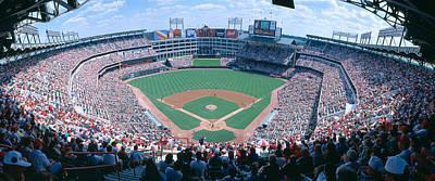 Turf Photograph - Baseball Stadium, Texas Rangers V by Panoramic Images