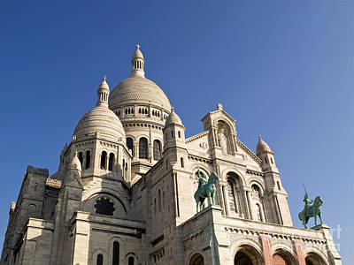 Sacre Coeur Photograph - Basilique Du Sacre Coeur by Alex Cassels