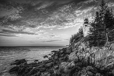 Photograph - Bass Harbor Light House by Frederick H Claflin