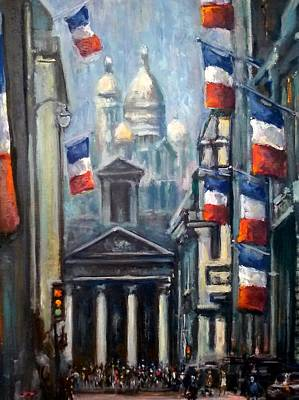 Painting - Bastille Day by Philip Corley