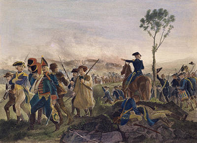 Battle Of Bennington, 1777 Art Print by Granger