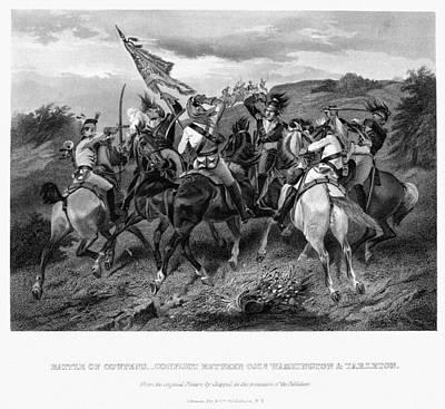 Redcoat Photograph - Battle Of Cowpens, 1781 by Granger